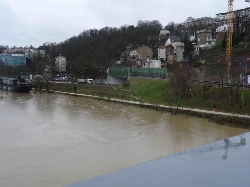 Crues de la Seine Dsc05741