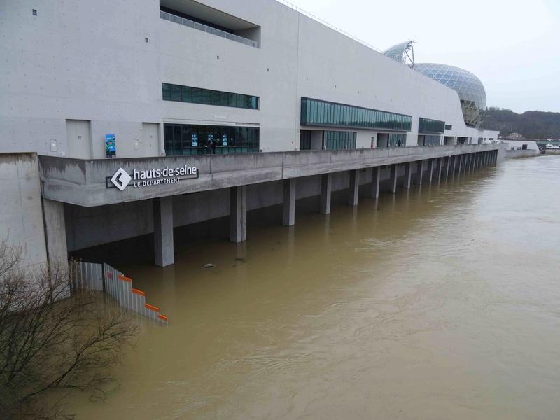 Crues de la Seine Dsc05743