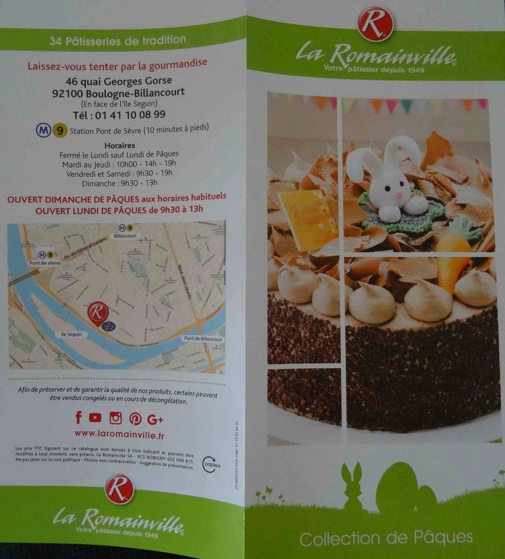 Patisserie La Romainville Dsc06413