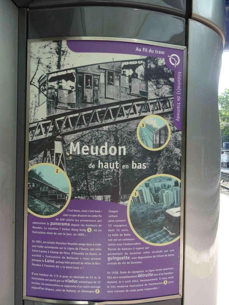 Funiculaire de Bellevue - Liaison de la gare T2 du Brimborion à la gare Transilien ligne N de Meudon Bellevue  Dsc07114