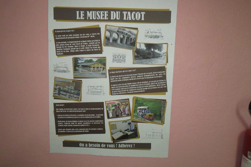 le musée du tacot de Cléron dans le Doubs Doc10