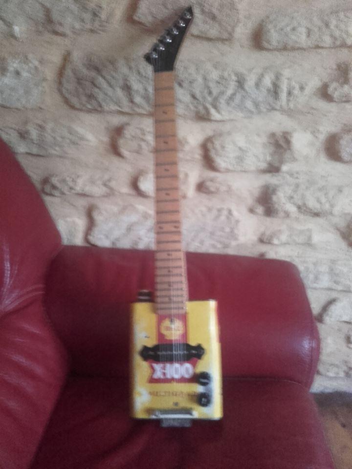 guitare bidon shell 6 cordes 24993210