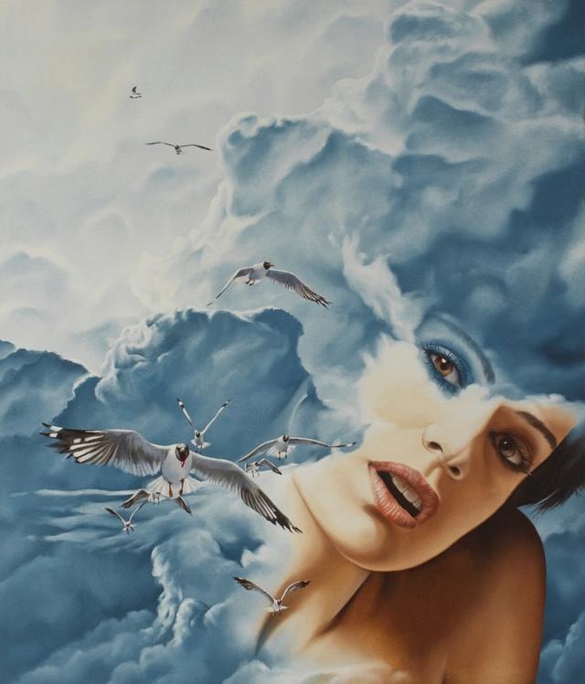 Maurizio Monti; video creazione di un'opera d'arte Parla_11