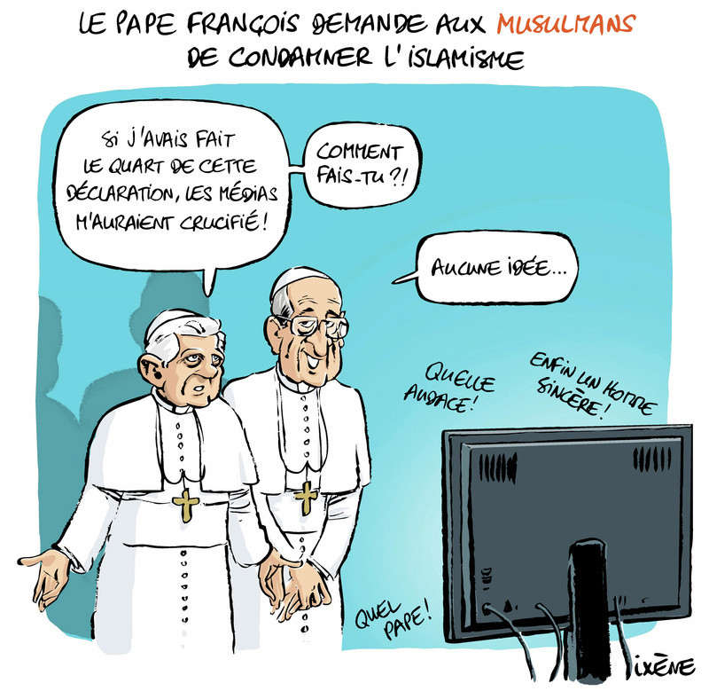 AVE MARIA pour notre Saint-Père le Pape François - Page 3 Pape_e10
