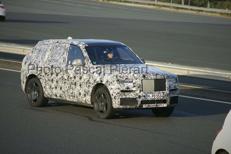 2017 - [Rolls-Royce] SUV Cullinan - Page 9 22548810