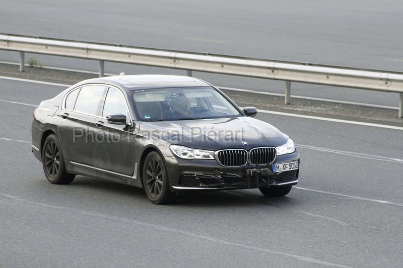 2019 - [BMW] Série 7 restylée  Protot13