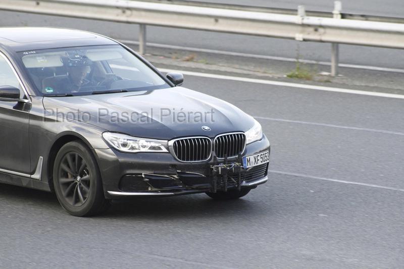 2019 - [BMW] Série 7 restylée  Protot14