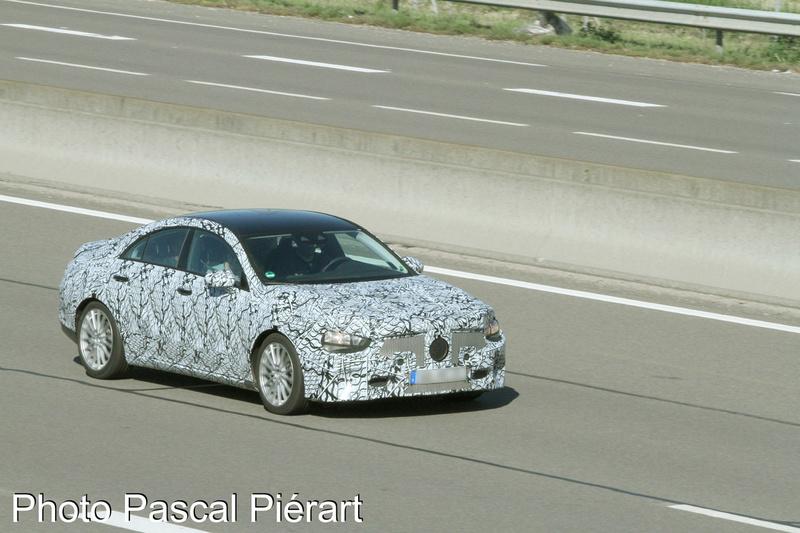 2019 - [Mercedes-Benz] CLA II - Page 2 Protot18