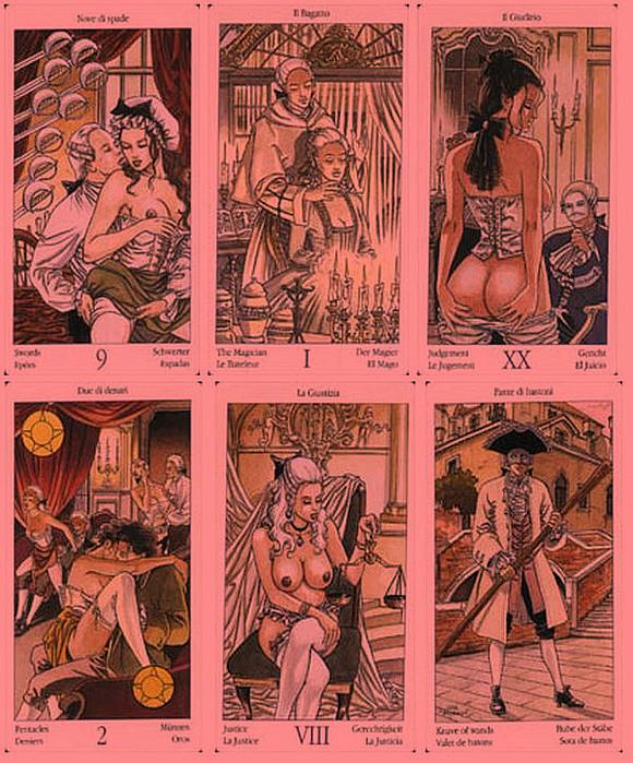 Эротические колоды Таро. 410