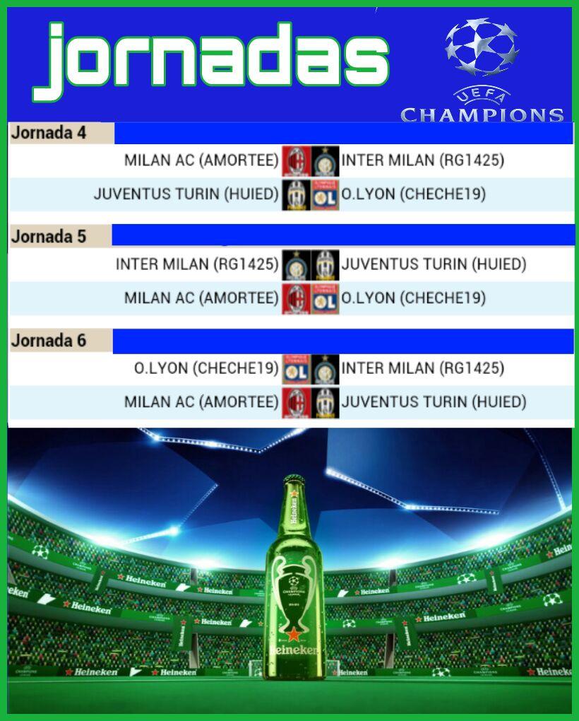 JORNADAS 4-5-6 GRUPO H CHAMPIONS Img-2022