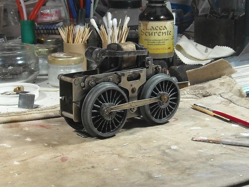 Fixation d'un moteur électrique pour une 221. Dscn1810
