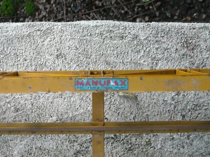 Pont à poutrelles MANUFAX echelle 0 Dscn1821