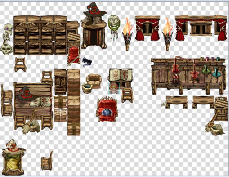 Bibliothèque des ressources MV Tilesets Screen13