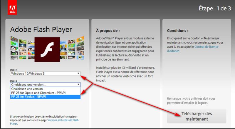Mise à jour Adobe Flash Player - les pièges ! Captur91