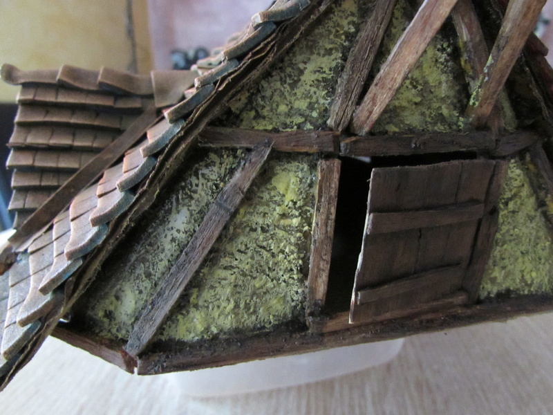 La maison est en carton, les escaliers... un batiment pour pas cher. Img_5633