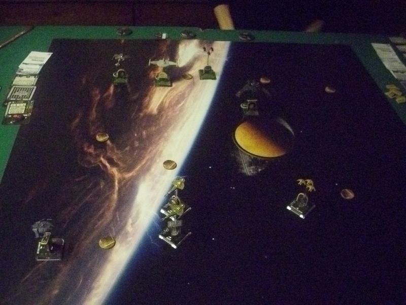 "[130] Dominion vs. Romulaner, neue Regeln ""Angriff auf Lytasia"" 00312"