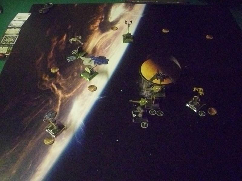 "[130] Dominion vs. Romulaner, neue Regeln ""Angriff auf Lytasia"" 00511"