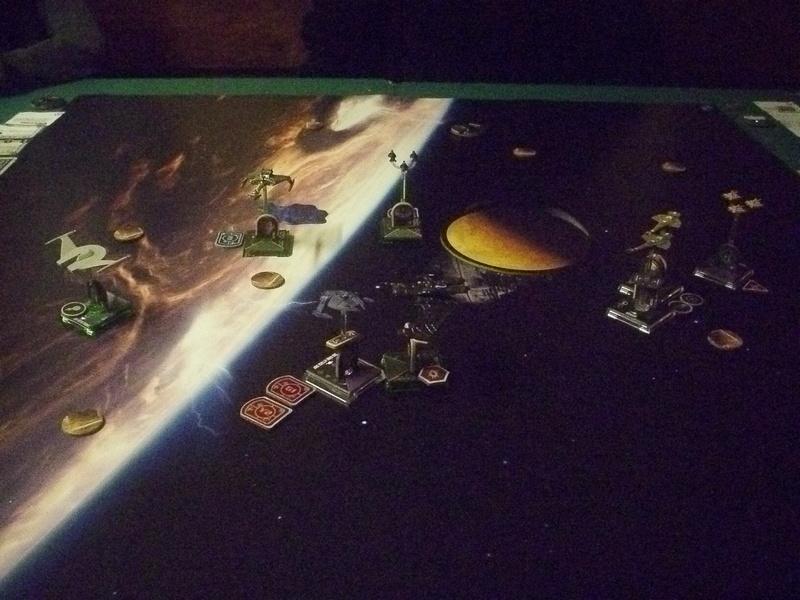 "[130] Dominion vs. Romulaner, neue Regeln ""Angriff auf Lytasia"" 00611"