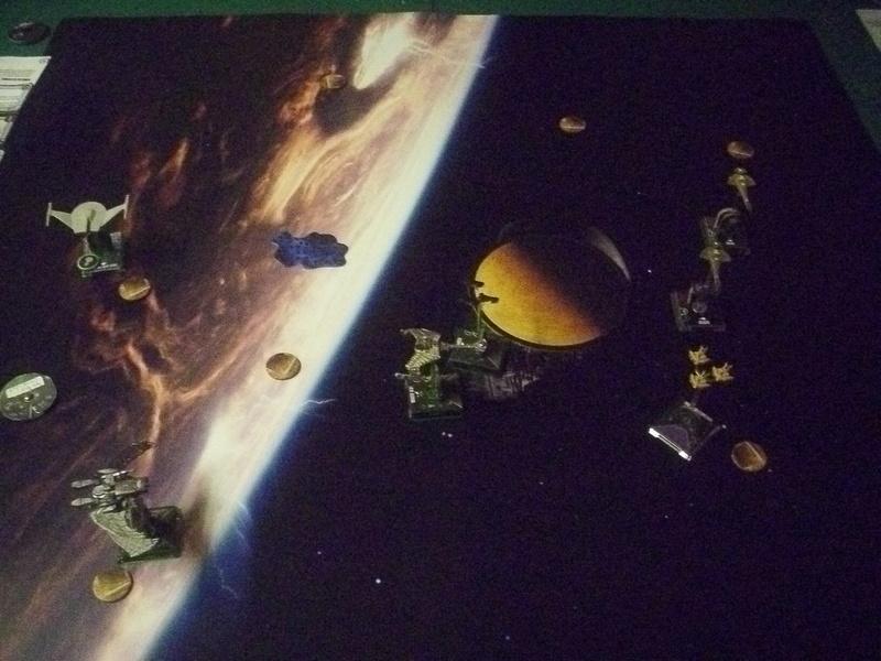 "[130] Dominion vs. Romulaner, neue Regeln ""Angriff auf Lytasia"" 00811"