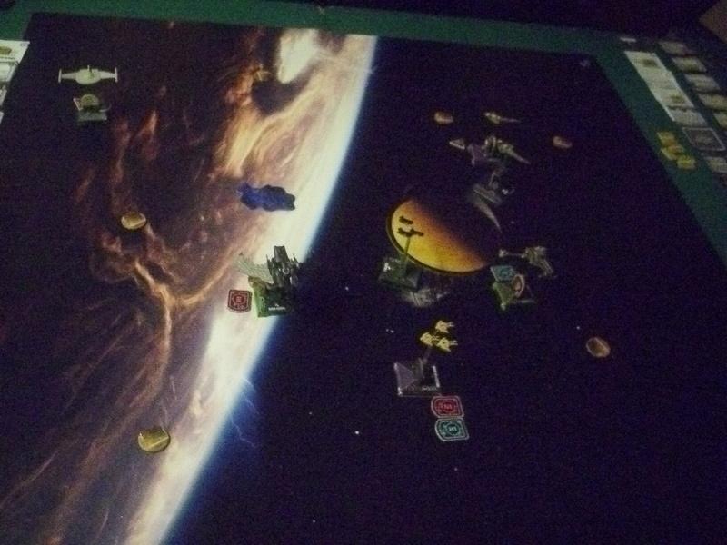 "[130] Dominion vs. Romulaner, neue Regeln ""Angriff auf Lytasia"" 00911"