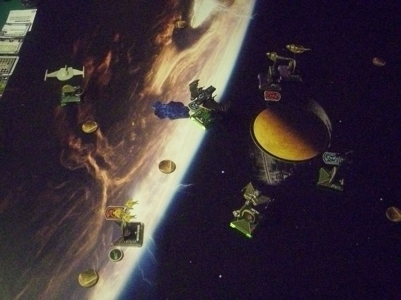 "[130] Dominion vs. Romulaner, neue Regeln ""Angriff auf Lytasia"" 01011"