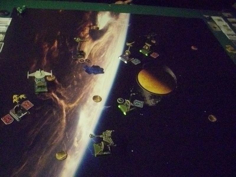 "[130] Dominion vs. Romulaner, neue Regeln ""Angriff auf Lytasia"" 01111"