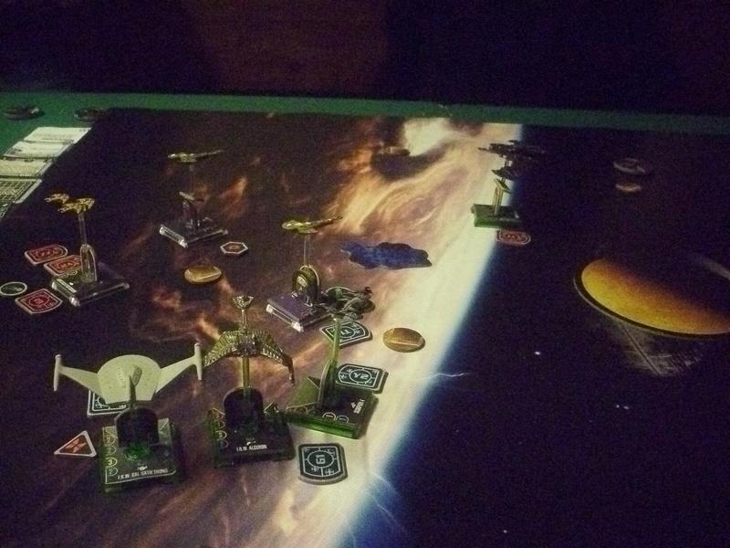 "[130] Dominion vs. Romulaner, neue Regeln ""Angriff auf Lytasia"" 01211"