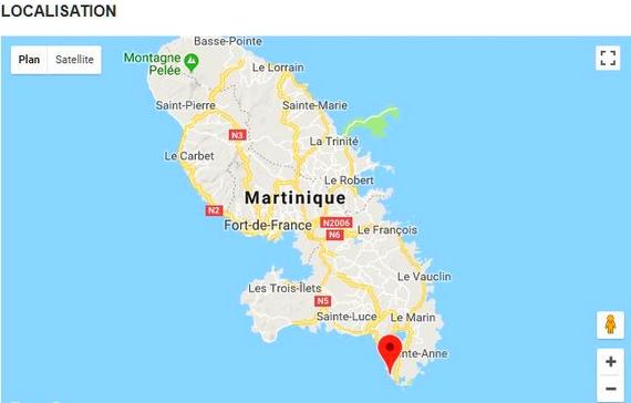 Martinique : plage Des Salines Captur28