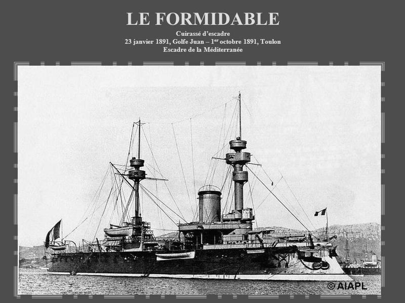 """Le cuirassé """"le Formidable"""" (1885) Leform10"""