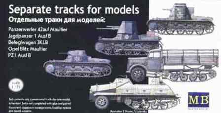 chenilles - Chenilles pour 2 modèles de blindés allemands 13710811