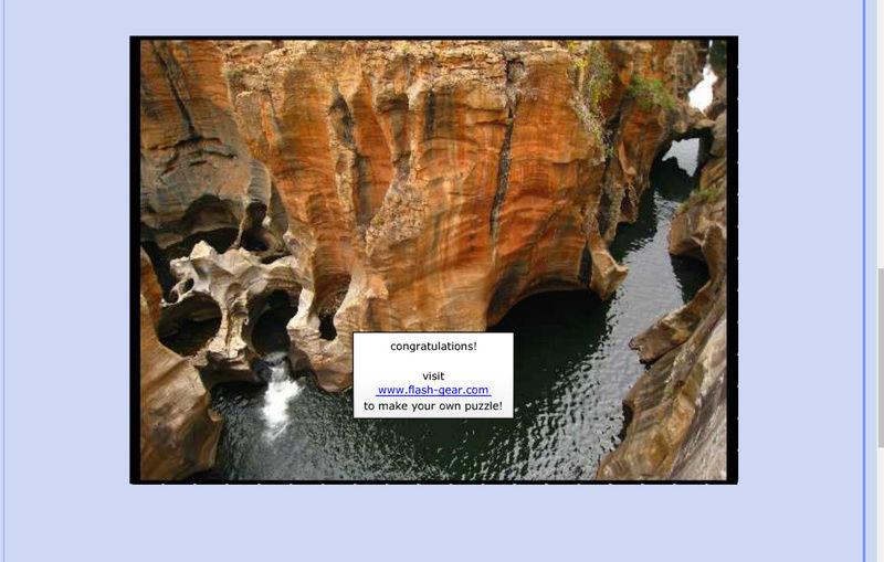 Puzzle #111 / Blyde River Canyon / Afrique du Sud Mimo13