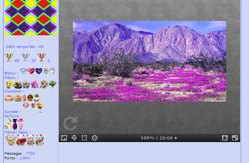 Puzzle #085 / Desert bloom Mimo154