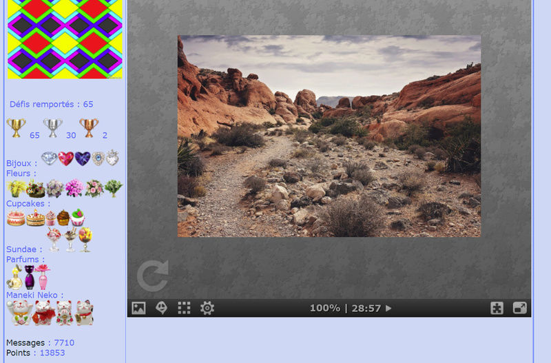 Puzzle #027 / Red Rock Canyon, Nevada Mimo162
