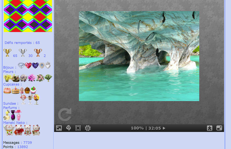 Puzzle #0305 / Marble caves Mimo174