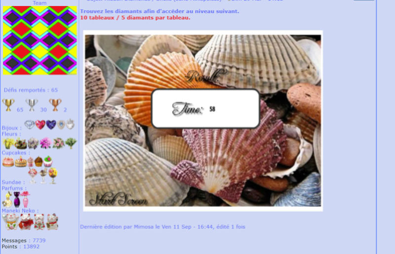 Hidden Diamonds / Shells (série Minispeless) Mimo180