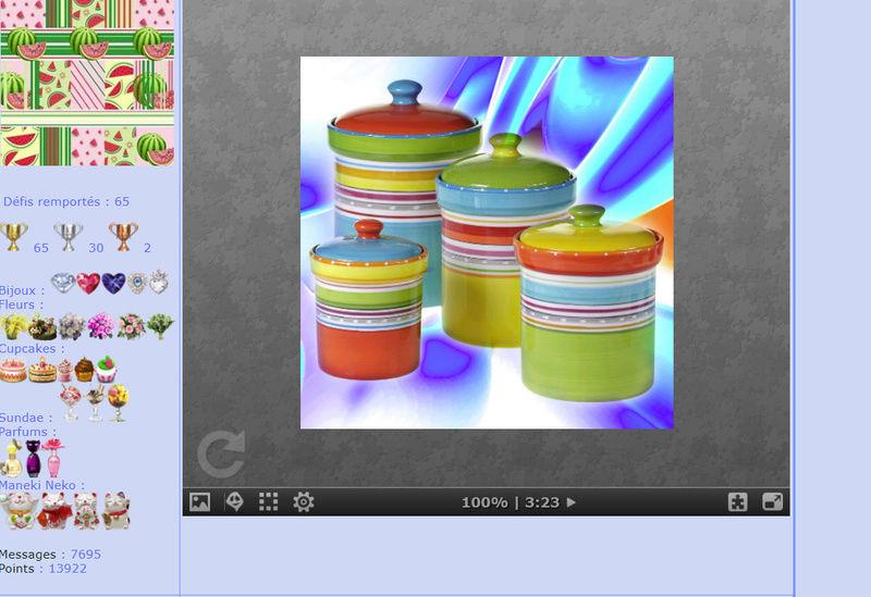 Puzzle #0351/ Multicolor sets jars Mimo288