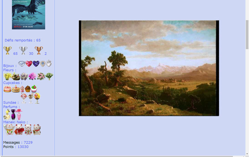 Puzzle #119 / Wind River Country par Albert Bierstadt Mimo58