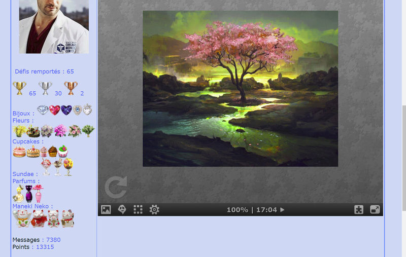Puzzle #018 / Pink tree Puzzl115