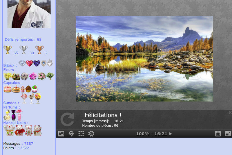 Puzzle #020 / Dolomites Mountains / Italy Puzzl121