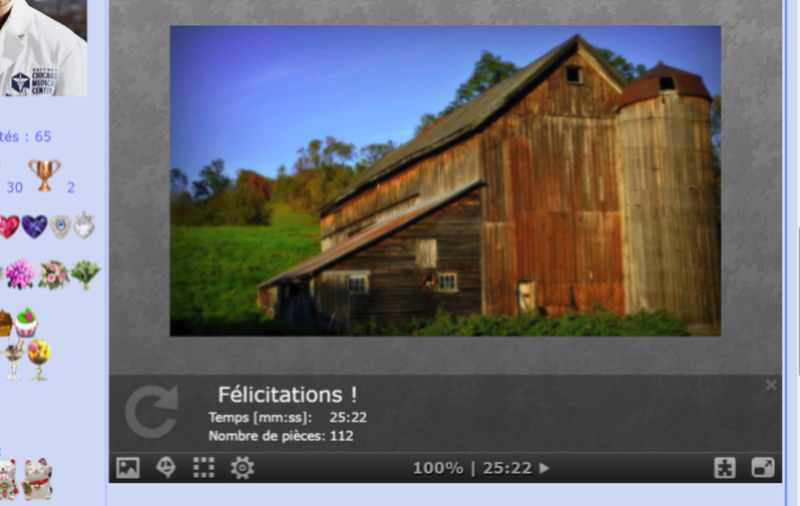 Puzzle #0175 / Wooden barn Puzzl159