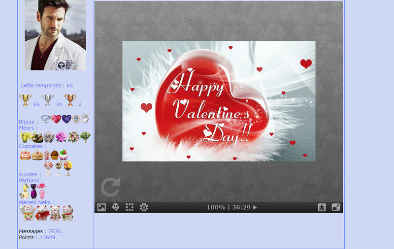 Puzzle #0253 / Happy Valentine's day Puzzl230