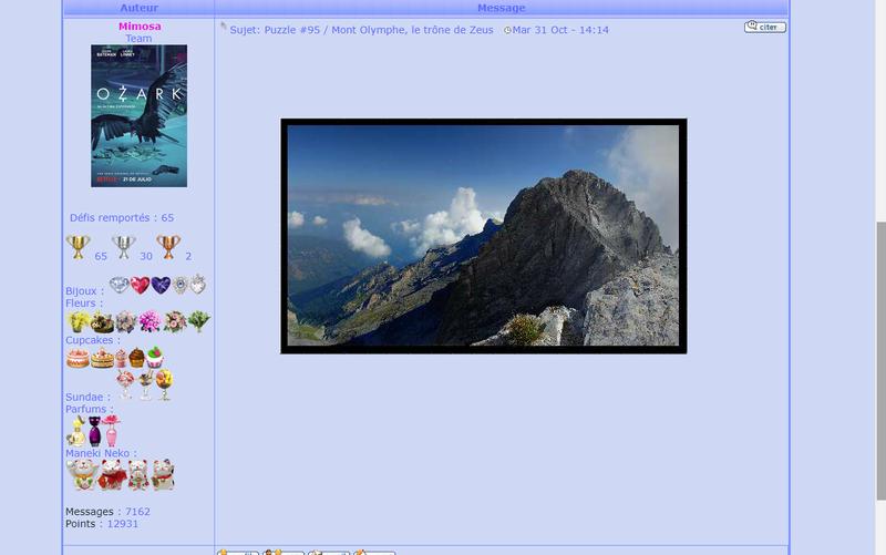 Puzzle #95 / Mont Olymphe, le trône de Zeus Puzzle15