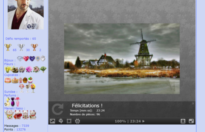 Puzzle #021 / Windmill_Gifhorn, Allemagne Puzzle80