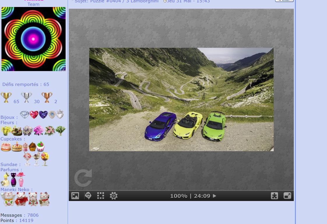 Puzzle #0404 / 3 Lamborghini Sans_t13