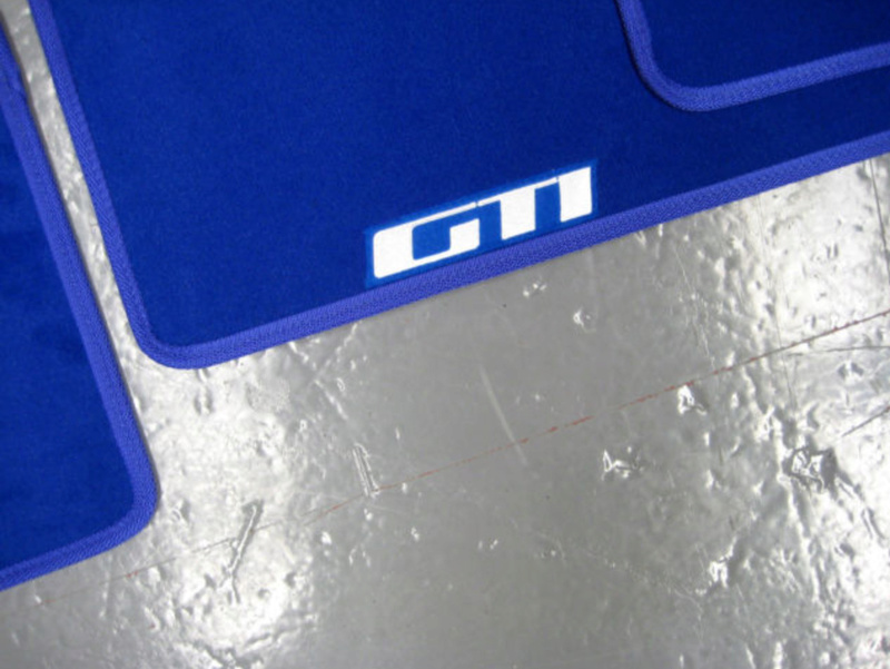 Nouveau partenariat Tapis de sol - Ambassador Car Mat Gti_bl13