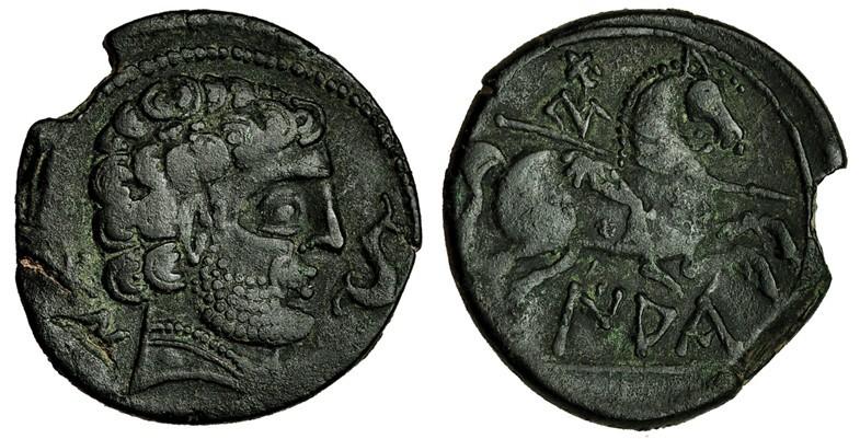 Subasta Tauler & Fau 10/5/2018. Sestercio Nerón - Puerto de Ostia y otras monedas que son la Hostia 21557210