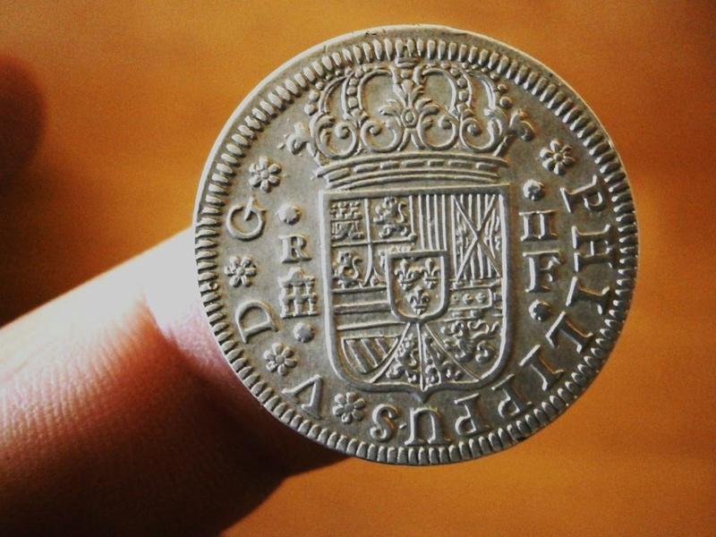 2 reales Felipe V 1726. Segovia 22688510