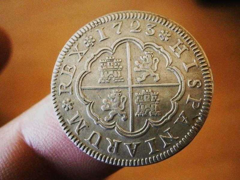 2 reales Felipe V 1726. Segovia 22789010