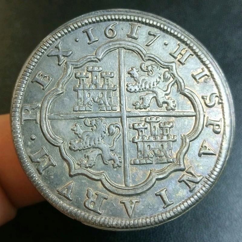 8 reales Felipe III 1617. Segovia 23621411
