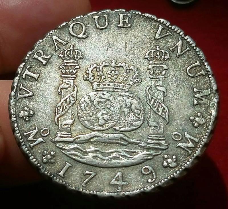 8 reales Fernando VI 1749. México 23905610